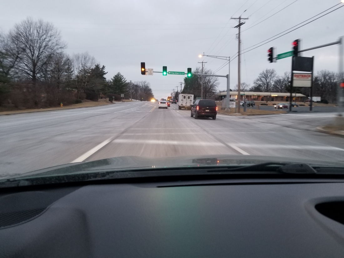 salt on the roads